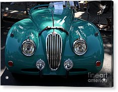 Classic Green Jaguar . 40d9411 Acrylic Print by Wingsdomain Art and Photography
