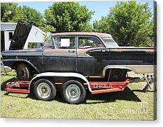 Classic Rusty Old 1959 Ford Galaxie 500 . 5d16308 Acrylic Print by Wingsdomain Art and Photography