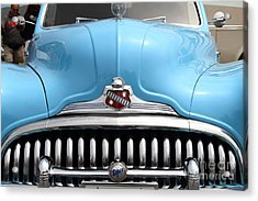 Classic Super Eight Grille 7d15155 Acrylic Print by Wingsdomain Art and Photography