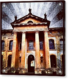 #classical #architecture #column Acrylic Print