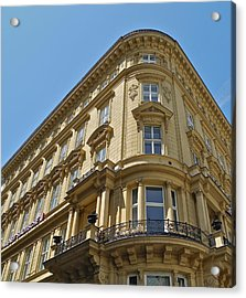 Acrylic Print featuring the photograph Classical Architecture In Vienna by Kirsten Giving