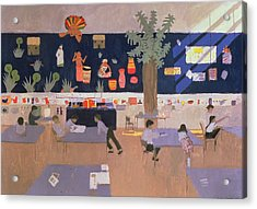 Classroom Acrylic Print by Andrew Macara
