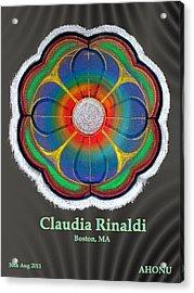Claudia Rinaldi Acrylic Print