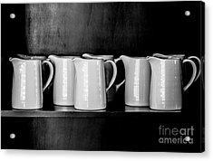 Clean White No.4 Acrylic Print by Chavalit Kamolthamanon