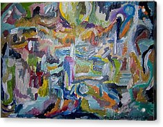 Cleansing Of The Mind Acrylic Print by Timothy  Foley