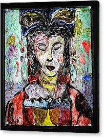 Cleopatra In Spring Acrylic Print by Mykul Anjelo
