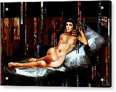 Cleopatra Nude Acrylic Print