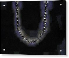 Acrylic Print featuring the digital art Cleopatra's Necklace by Steve Taylor