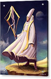 Cleric Acrylic Print by Michael Myers