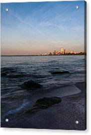 Cleveland From The Shadows Acrylic Print