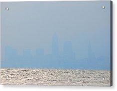 Cleveland Ohio Acrylic Print by Peter  McIntosh
