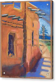 Cliff Dwelling Los Alamos New Mexico Acrylic Print