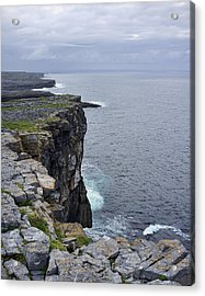 Acrylic Print featuring the photograph Cliffs Of Inishmore by Hugh Smith