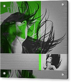Climax Acrylic Print by Naxart Studio