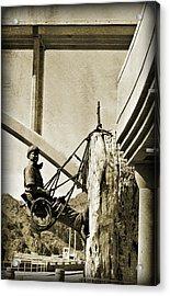 Climbing High IIi Acrylic Print by Malania Hammer