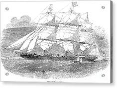 Clipper Ship, 1853 Acrylic Print by Granger