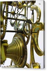 Clockwork Acrylic Print by John Chatterley