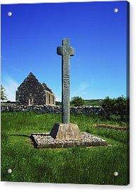 Cloncra Church, Inishowen Peninsula Acrylic Print by The Irish Image Collection
