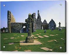 Clonmacnoise, Co Offaly, Ireland, West Acrylic Print by The Irish Image Collection