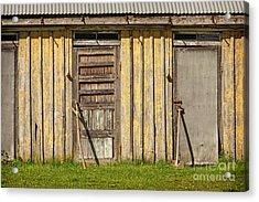 Closed Doors Acrylic Print by Lutz Baar