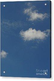 Cloud 007 Acrylic Print by Lyle Bonn