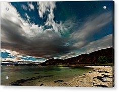 Cloud And Auroras Acrylic Print by Frank Olsen