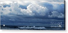 Acrylic Print featuring the photograph Cloud Bank by Linda Mesibov