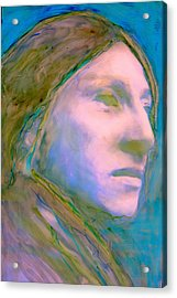 Cloud People Acrylic Print by FeatherStone Studio Julie A Miller