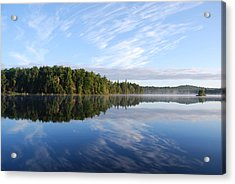 Cloud Reflections Acrylic Print by Kim French