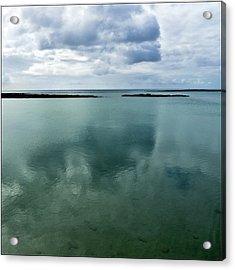 Cloud Reflections Acrylic Print by Kimberly Jansen Photography