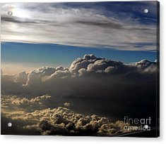 Cloud Series 4 Acrylic Print by Elizabeth Fontaine-Barr