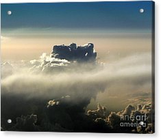 Cloud Series 5 Acrylic Print by Elizabeth Fontaine-Barr