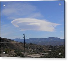 Cloud St Enterprise Acrylic Print by Biff Yeager