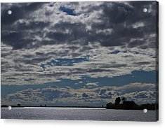 Clouds Chobe River  Acrylic Print