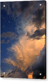 Clouds In The Spring Sky Acrylic Print