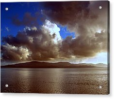 Acrylic Print featuring the photograph Clouds by Irina Hays