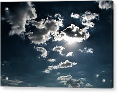 Clouds On A Sunny Day Acrylic Print by Sumit Mehndiratta