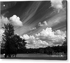 Clouds Over The Lake 1 Acrylic Print