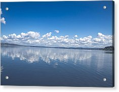 Clouds Over Water Acrylic Print