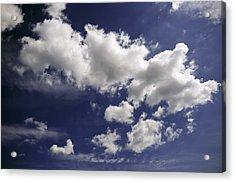 Clouds Acrylic Print by Paul Plaine