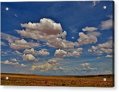 Clouds Acrylic Print by Sara Edens