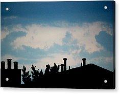 Clouds Acrylic Print by Shweta Singh