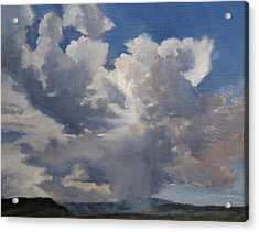 Cloudscape Acrylic Print by Victoria  Broyles