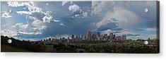 Cloudy Panorama Edmonton Acrylic Print