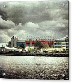 #cloudy #weather In #manchester Acrylic Print