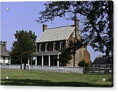 Clover Hill Tavern Appomattox Virginia Acrylic Print by Teresa Mucha