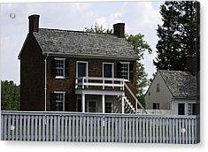 Clover Hill Tavern Kitchen Appomattox Virginia Acrylic Print by Teresa Mucha