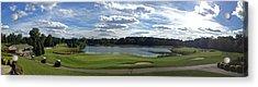 Club House Panorama Acrylic Print
