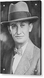 Clyde Cessna, Us Aviation Pioneer Acrylic Print