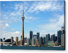 Cn Tower Acrylic Print